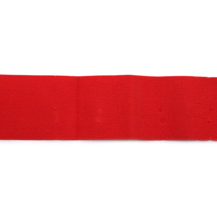 2 Inch Waistband Elastic Red 100% polyester