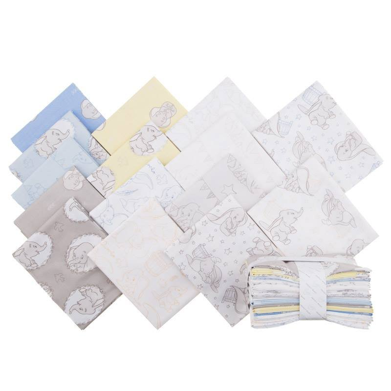 Camelot. Dumbo Fat Quarter Bundle
