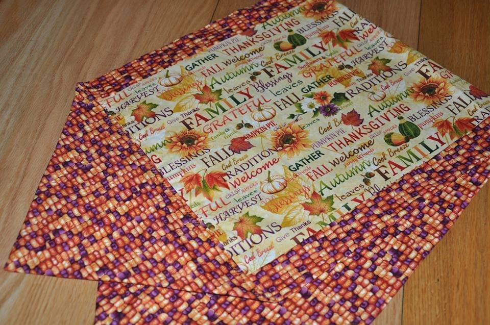 Autumn Album Table Runner Kit