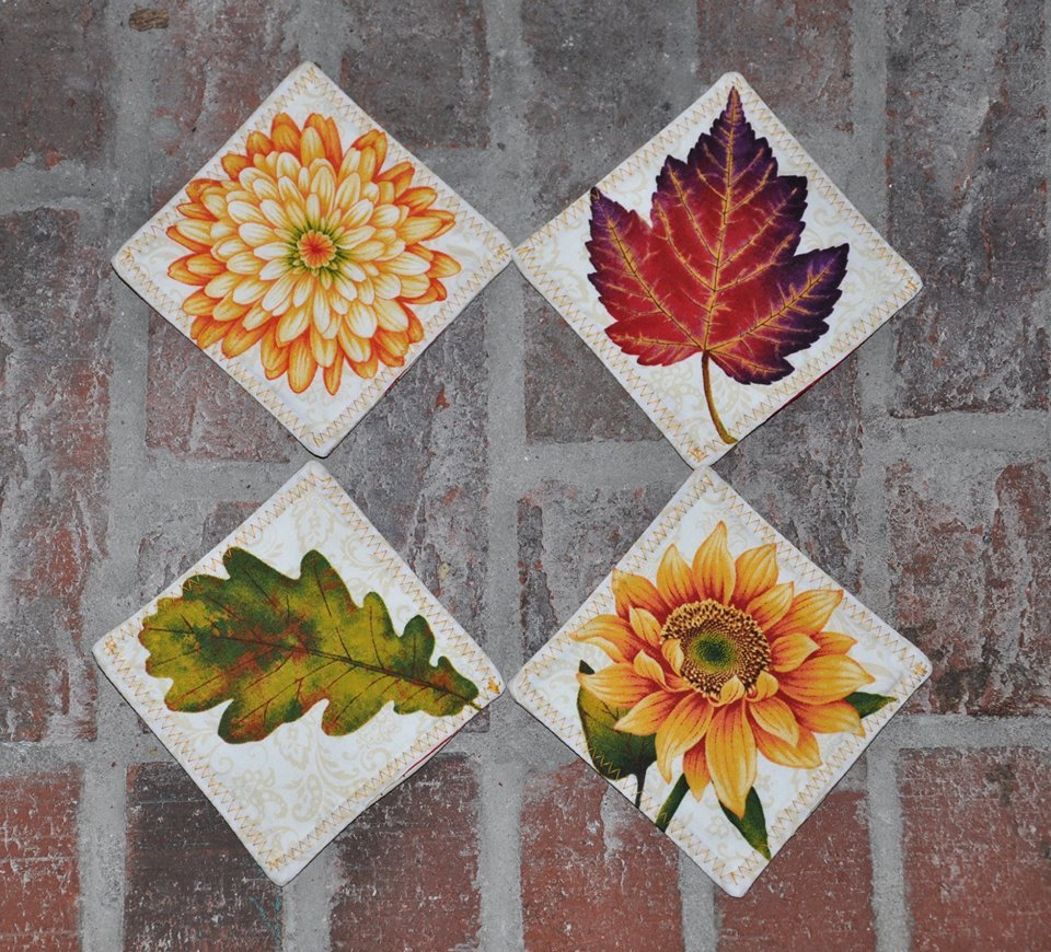 Autumn Leaves Coaster Kit