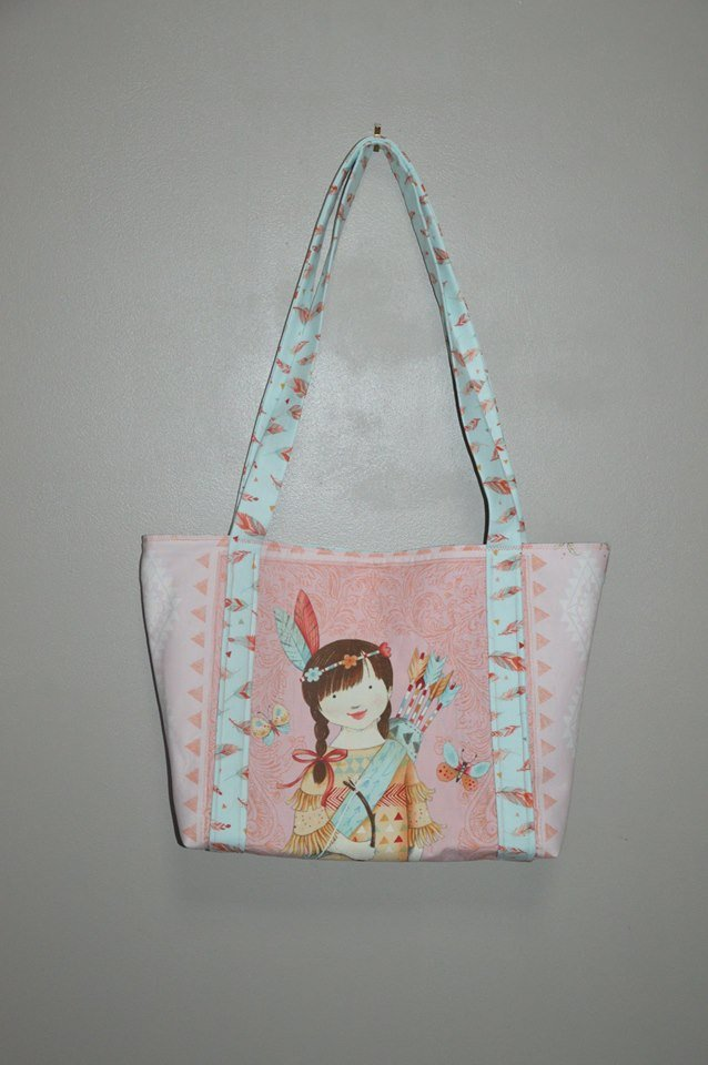 Dream Catcher Panel Tote Bag Kit