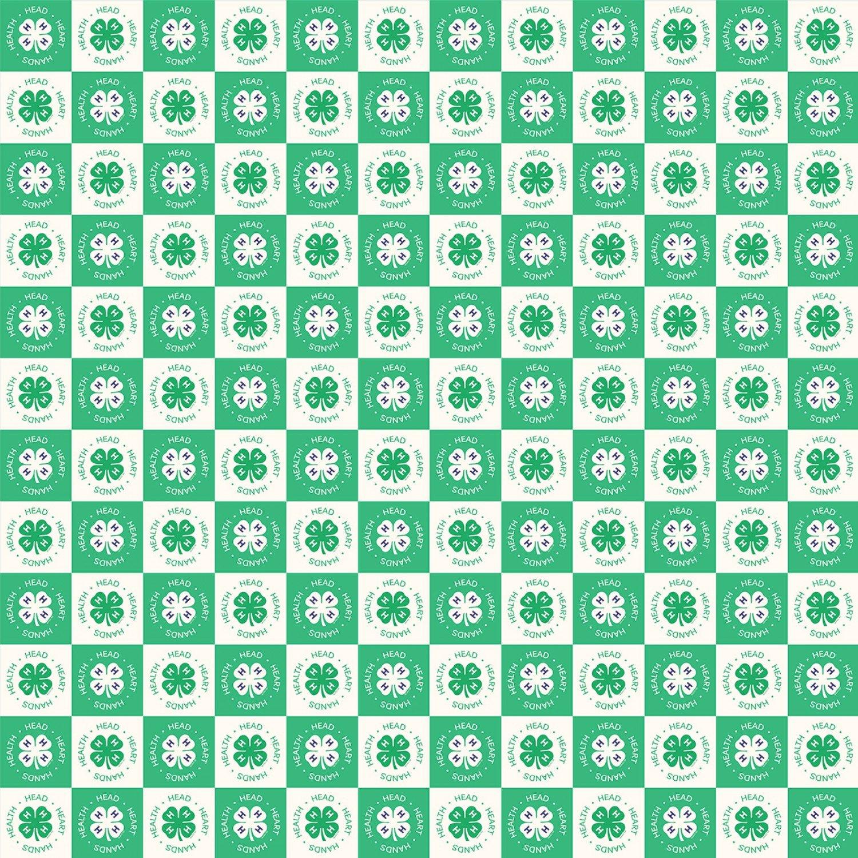 4-H. Clover Blocks Cream