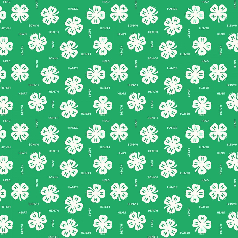 4-H. Clover Green