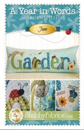 A Year In Words - Garden/Jun Pattern