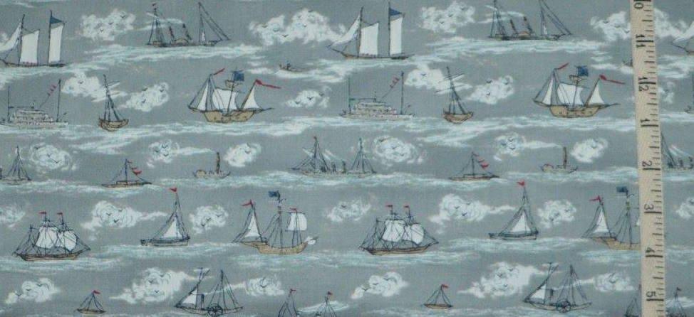 Ahoy Me Hearties. Busy Seas Pebble