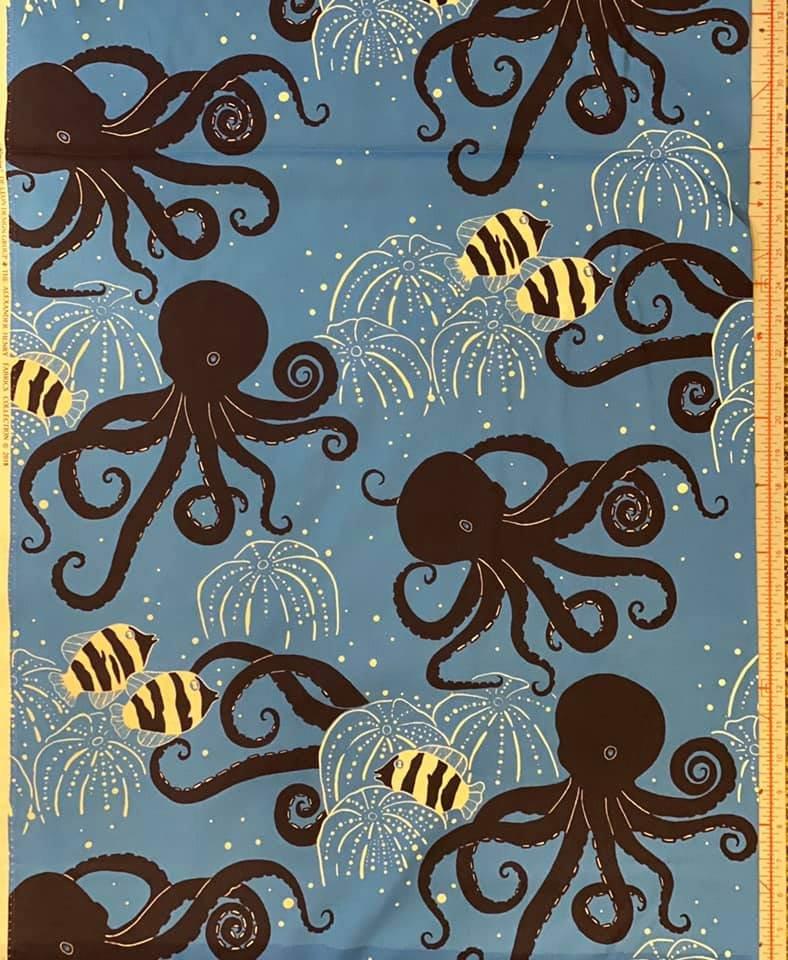 Alexander Henry. Deep Sea. Octavius Blue