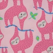 Alexander Henry. Monkey's Bizness. Sleepy Sloth Pink