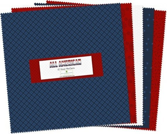 All-American. 10 Karat Mini-Gems 24 - 10 inch squares