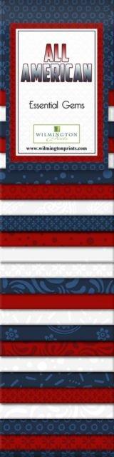 All-American. Essential Gems 24 - 2.5 inch strips