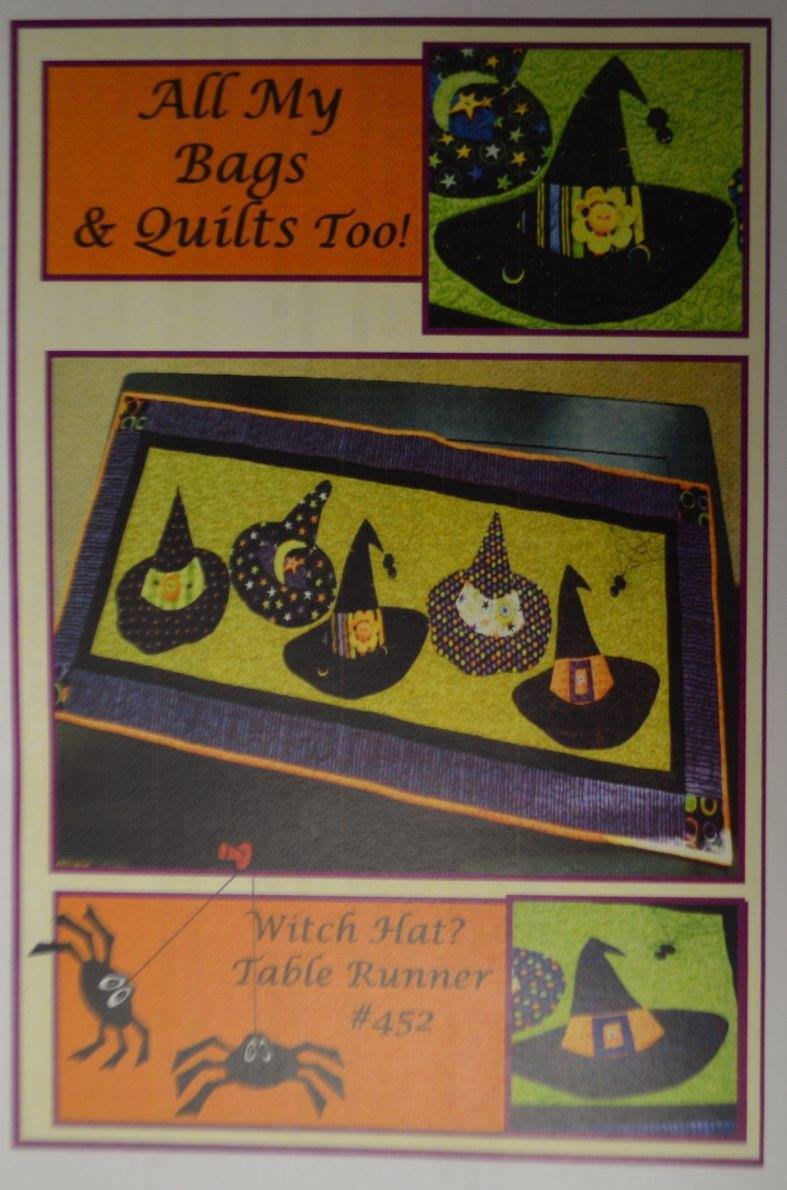 All My Bags Witches Hat Table Runner Pattern