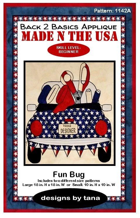 American Honor. Fun Bug Pattern