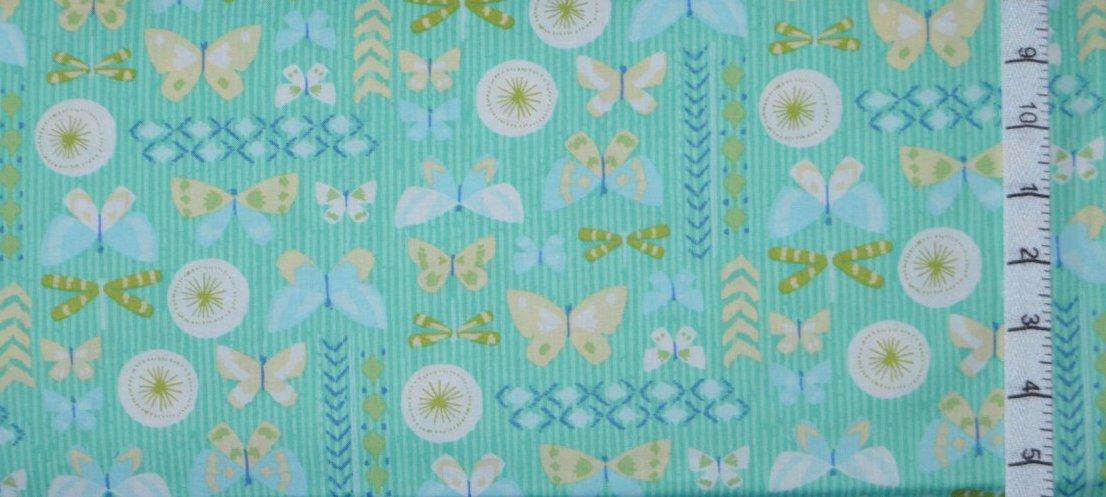 Amira. Butterflies Turquoise