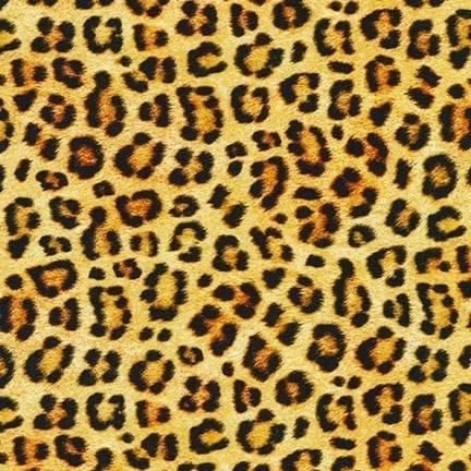 Animal Kingdom Knits. Leopard Skin Wild KNIT 59 inch