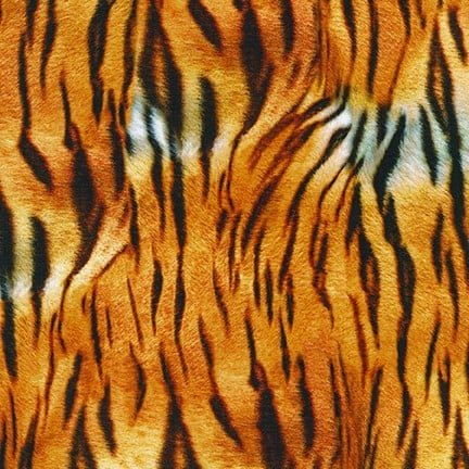 Animal Kingdom Knits. Tiger Skin Wild KNIT 59 inch