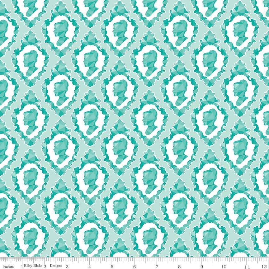 Ardently Austen. Silhouette Teal