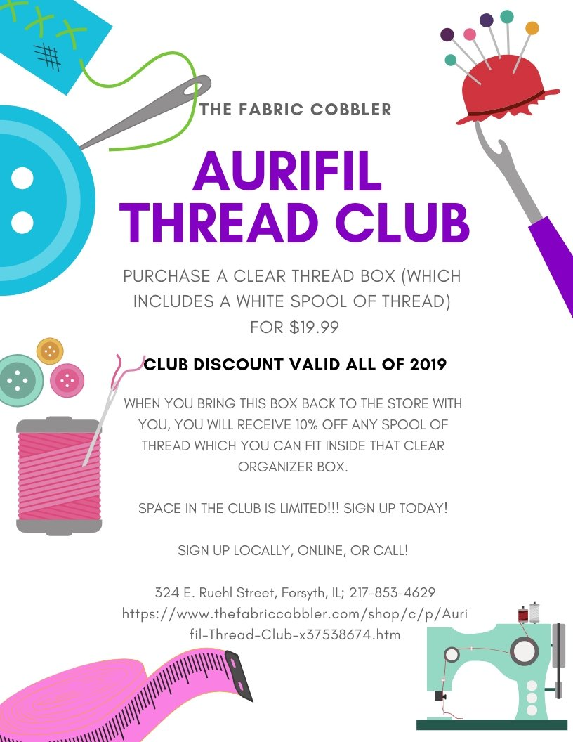 Aurifil Thread Club
