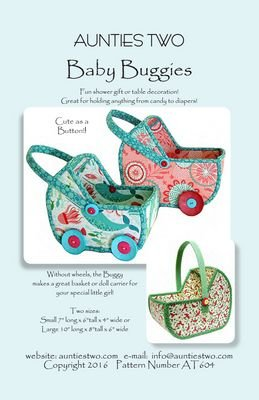 Aunties Two. Baby Buggy Pattern