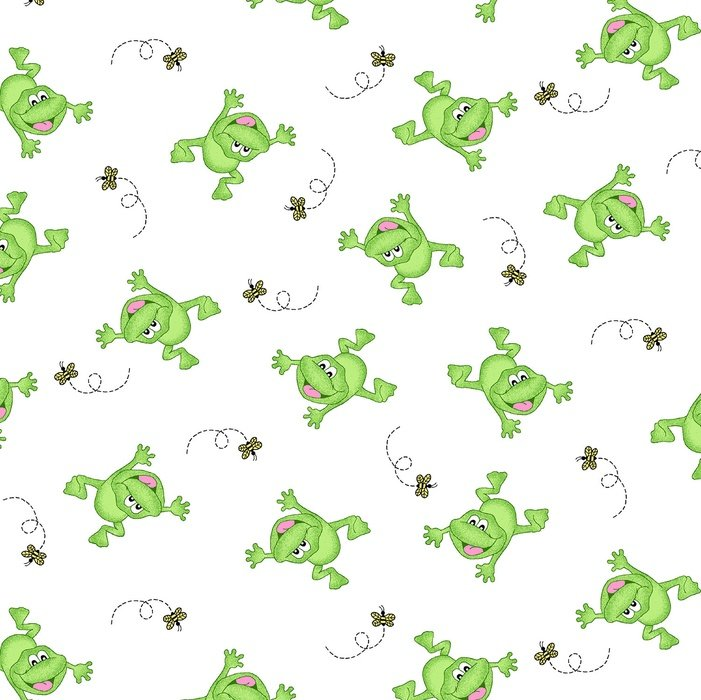 Baby Love. Frogs SWADDLE CLOTH