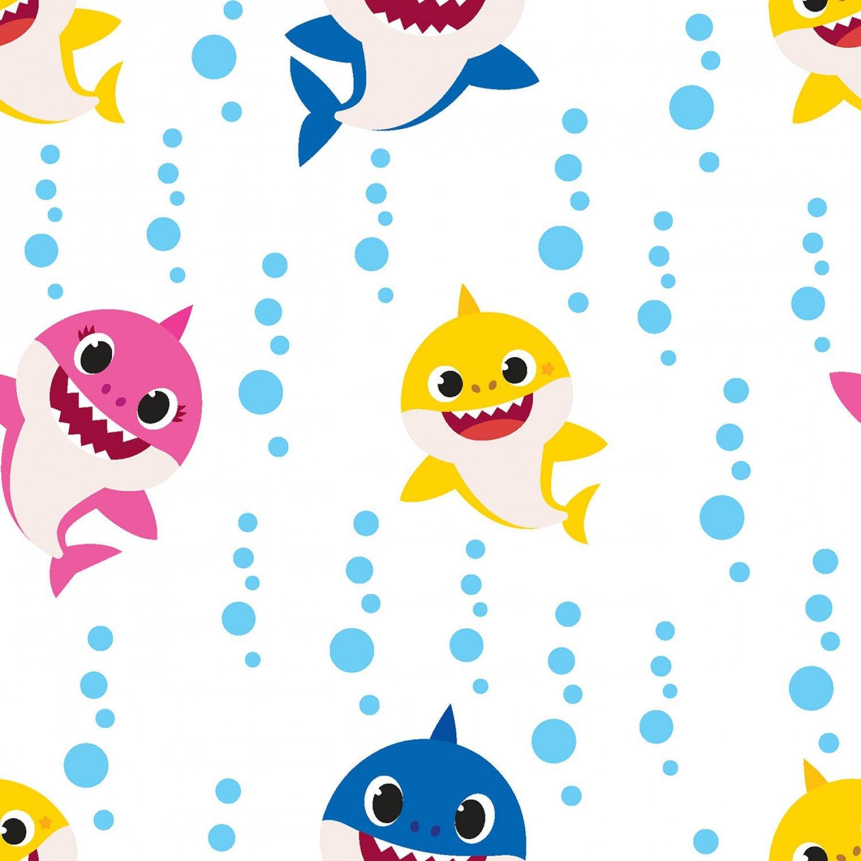 Baby Shark. Family Bubble Blast White