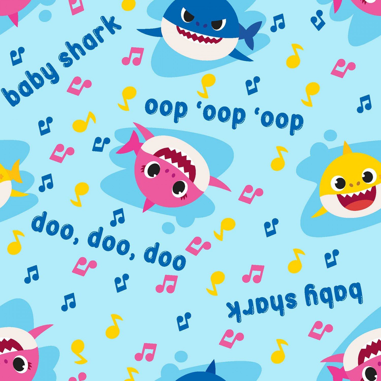 Baby Shark. Music Toss Blue