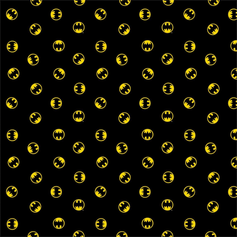 Batman 80th Anniversary. DC Batman Logo Black