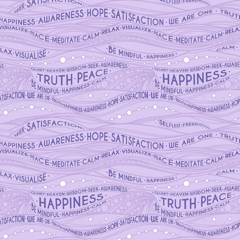 Be Mindful. Mindful Lavender