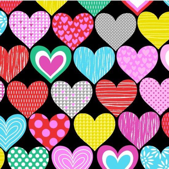 Big Love. Big Hearts Black