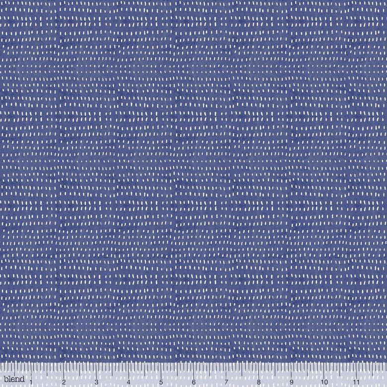 Blend Fabrics. Seeds Cobalt