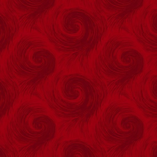 Breezy 108 Inch Wide Quilt Backing Red