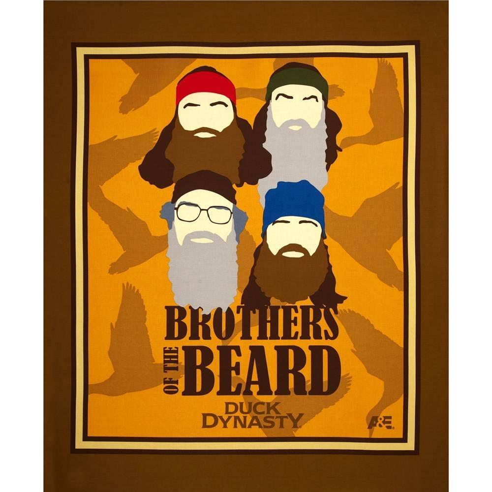 Brother's of the Beard Panel Full Yard
