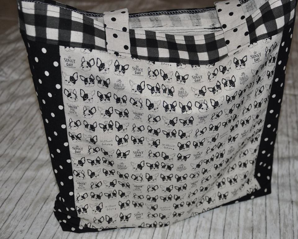 Bulldog Small Reusable Grocery Bag Kit