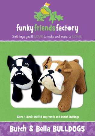 Butch & Bella Bulldogs Pattern