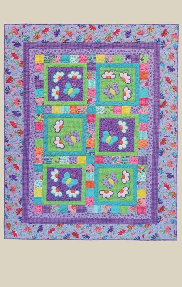 Butterflies & Daisies 2 Pattern