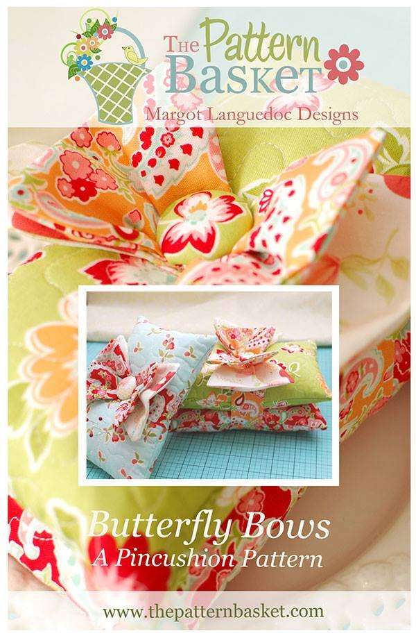 Butterfly Bows Pincushion Pattern