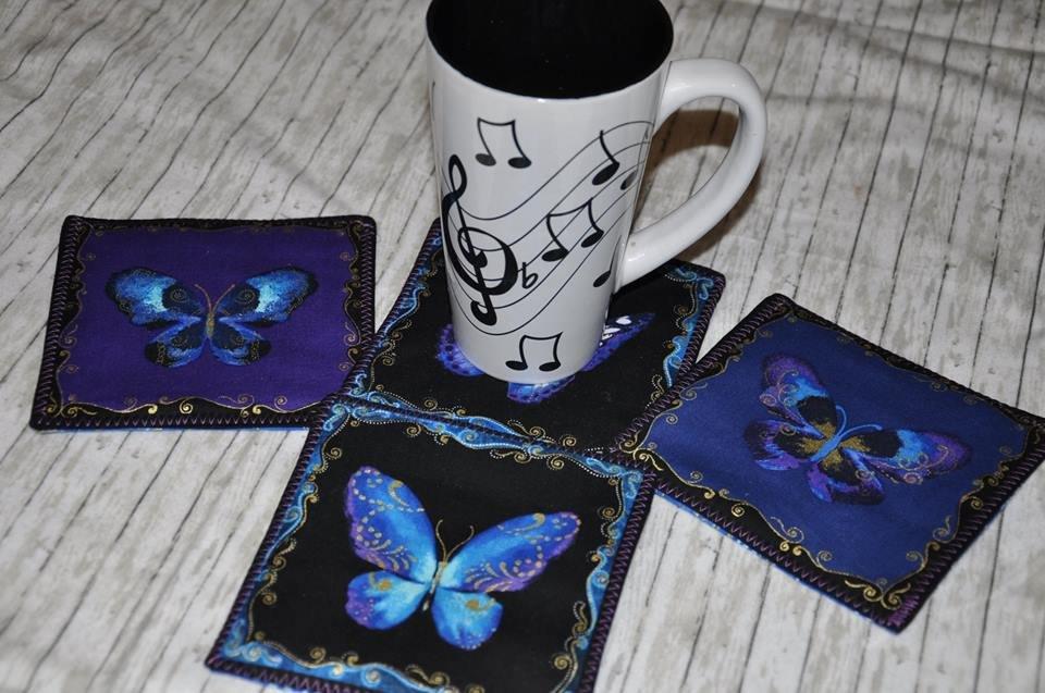 Butterfly Jewel Coaster Kit