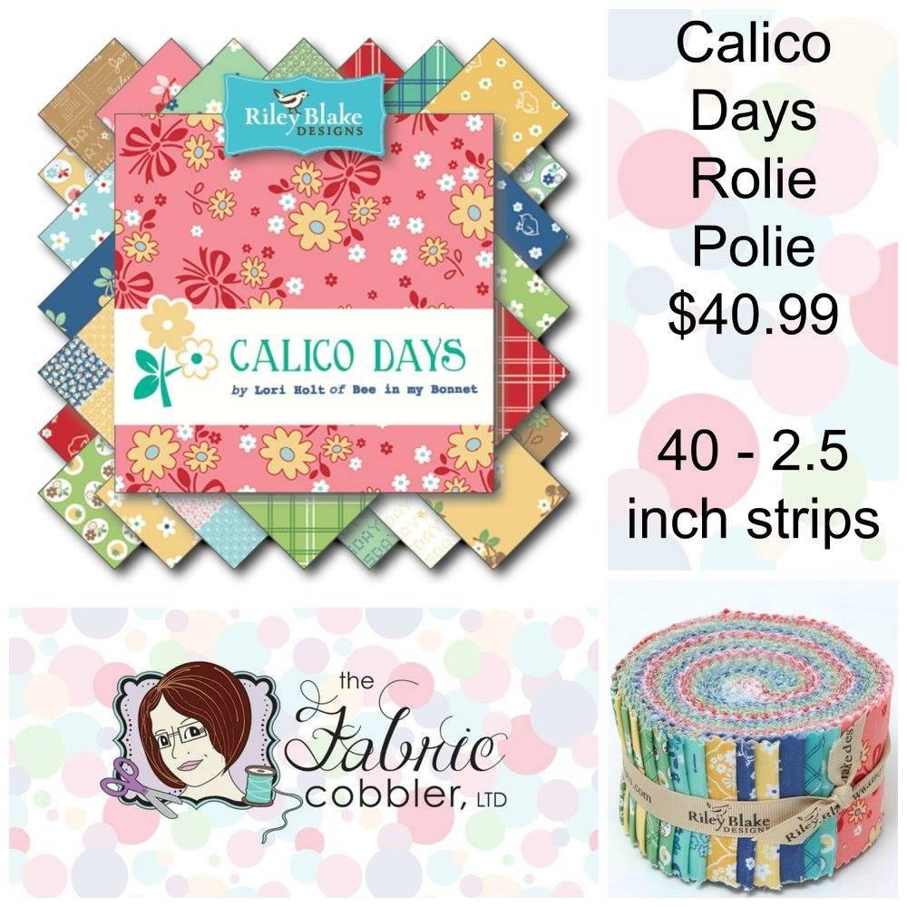 Calico Days Rollie Pollie 2.5 inch strips