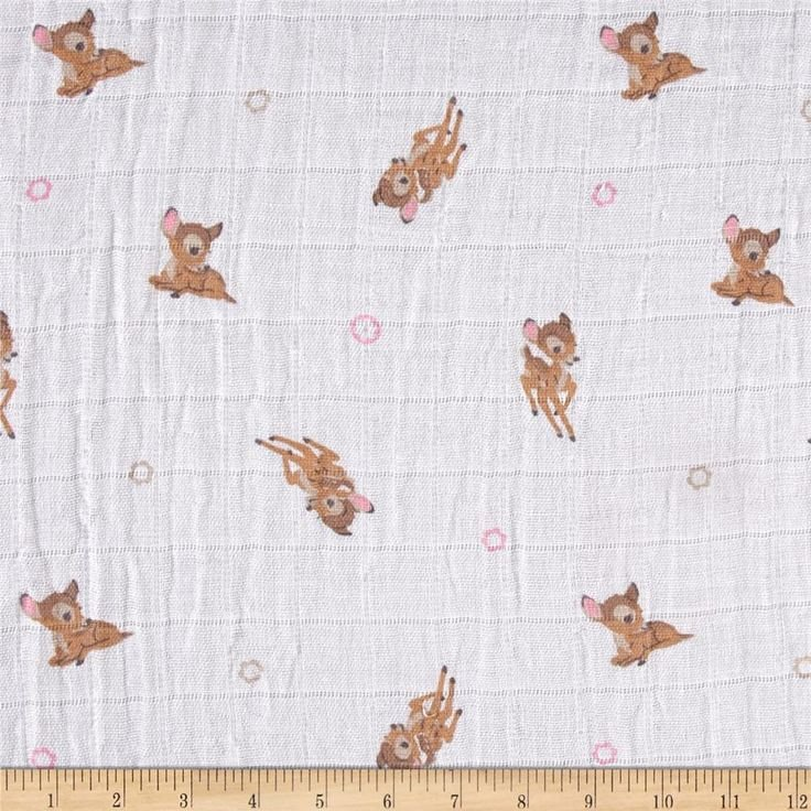 Camelot Fabrics. Bambi SWADDLE CLOTH