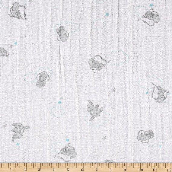 Camelot Fabrics. Dumbo SWADDLE CLOTH