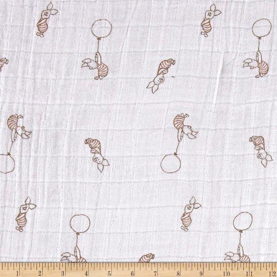 Camelot Fabrics. Piglet SWADDLE CLOTH