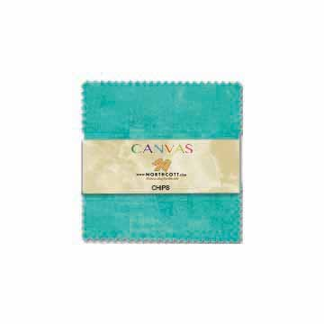 Canvas Chips 5 inch squares 42 pcs