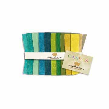 Canvas Strip Rolls 2 1/2 inch strips 40 pcs