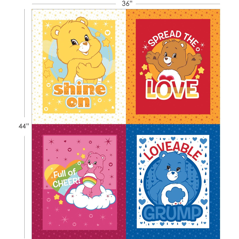 Care Bears. Character FQ Panel Full Yard
