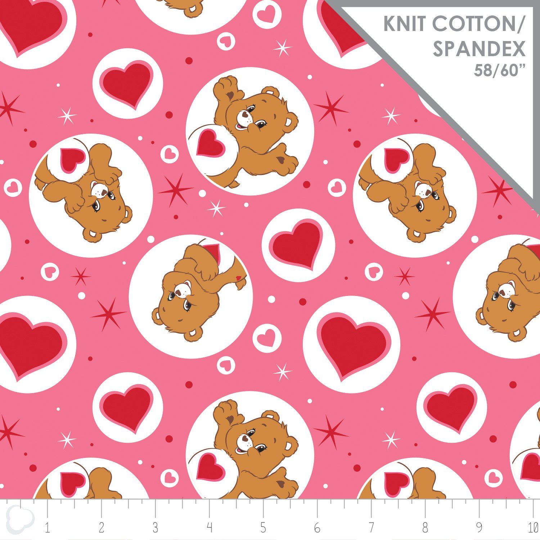 Care Bears. Tenderheart Bear Pink KNIT