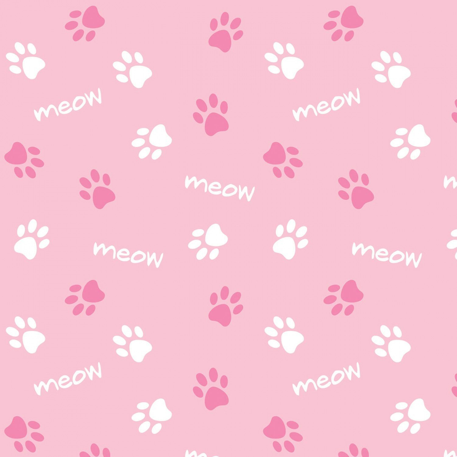 Cats Rule. Paws Pink