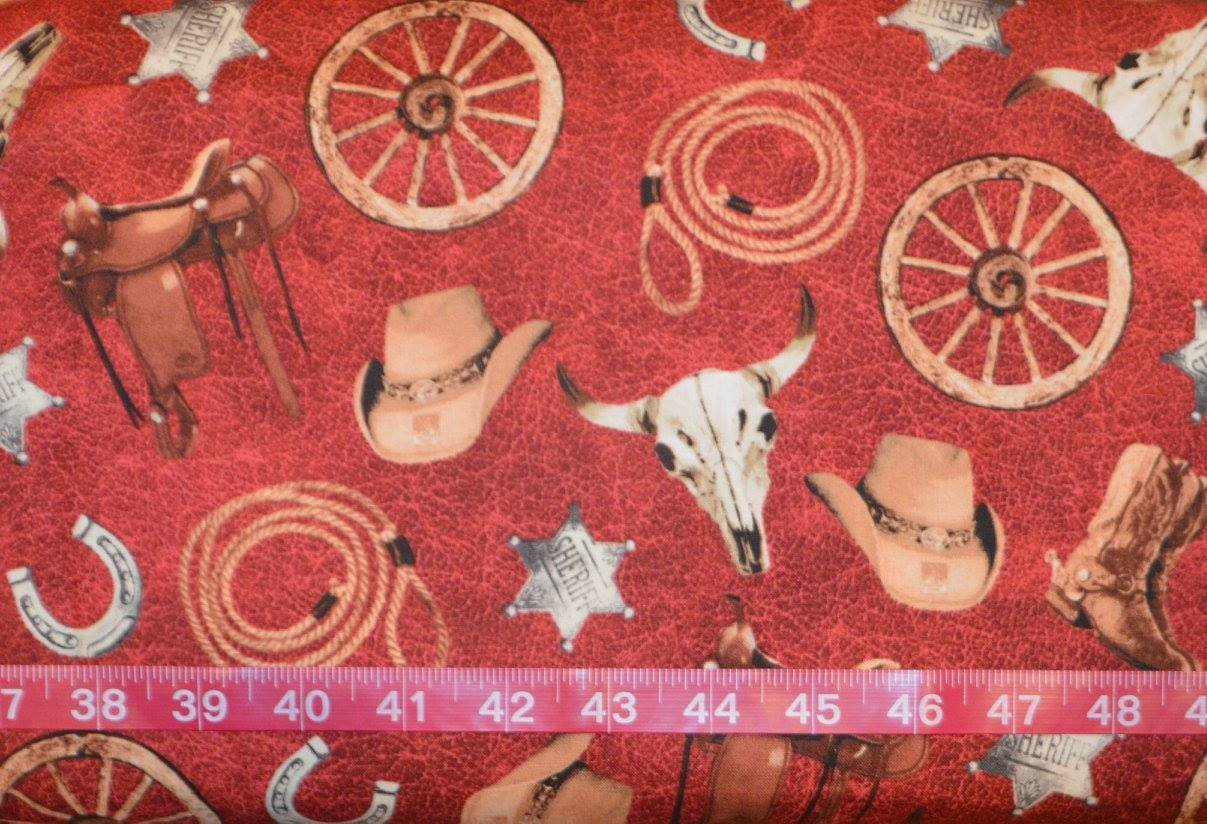 Cattle Drive. Accessories Red
