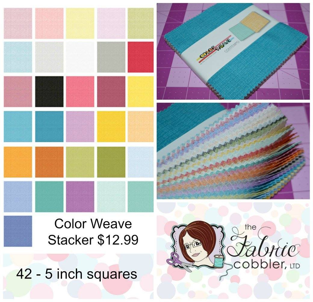 Color Weave Stacker 5 inch