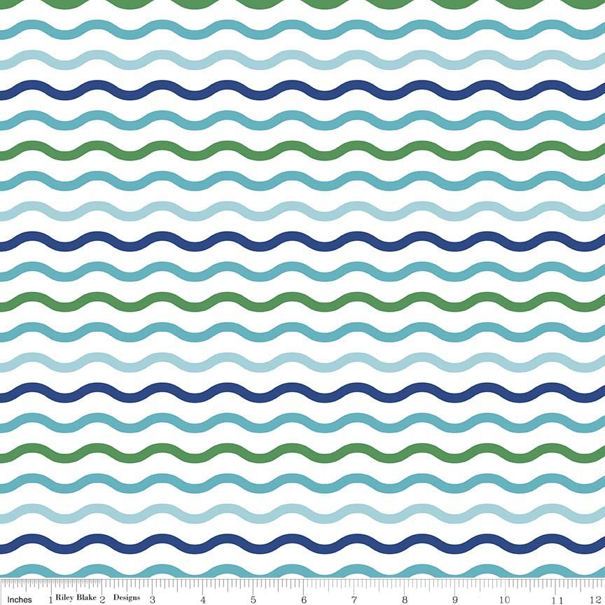 Colorfully Creative. Serpentine Blue