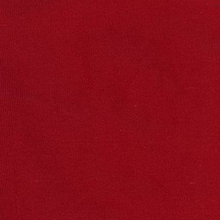 Corduroy 21 Wale Red
