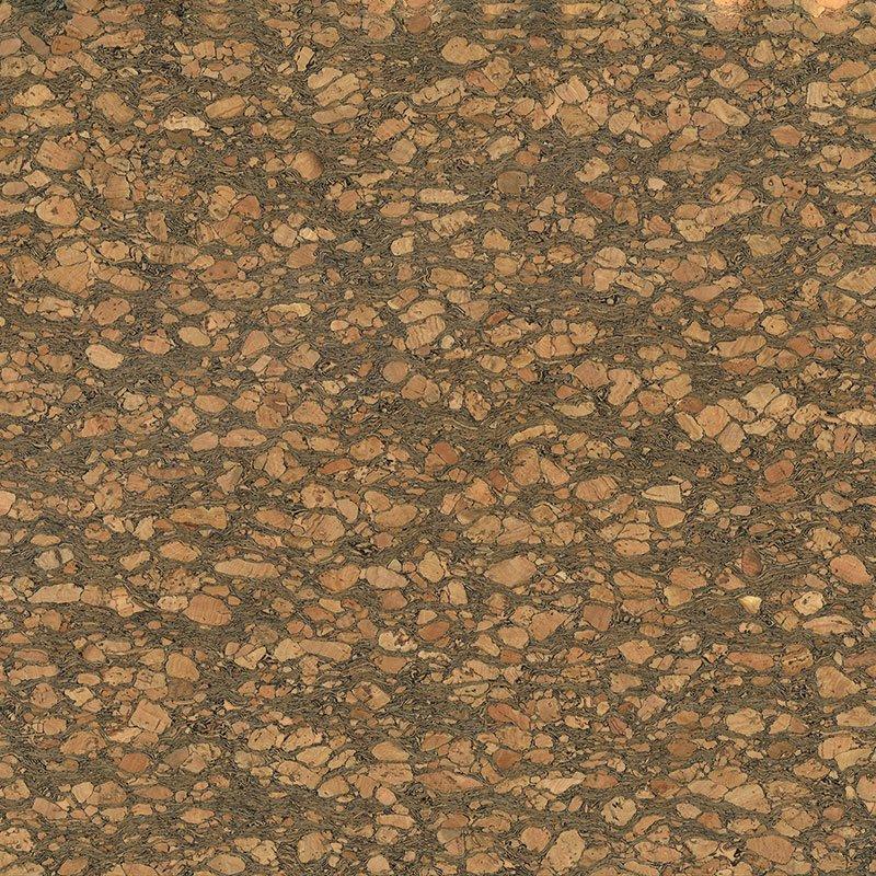 Cork Fabric Dark Natural 7 x 18 sheet