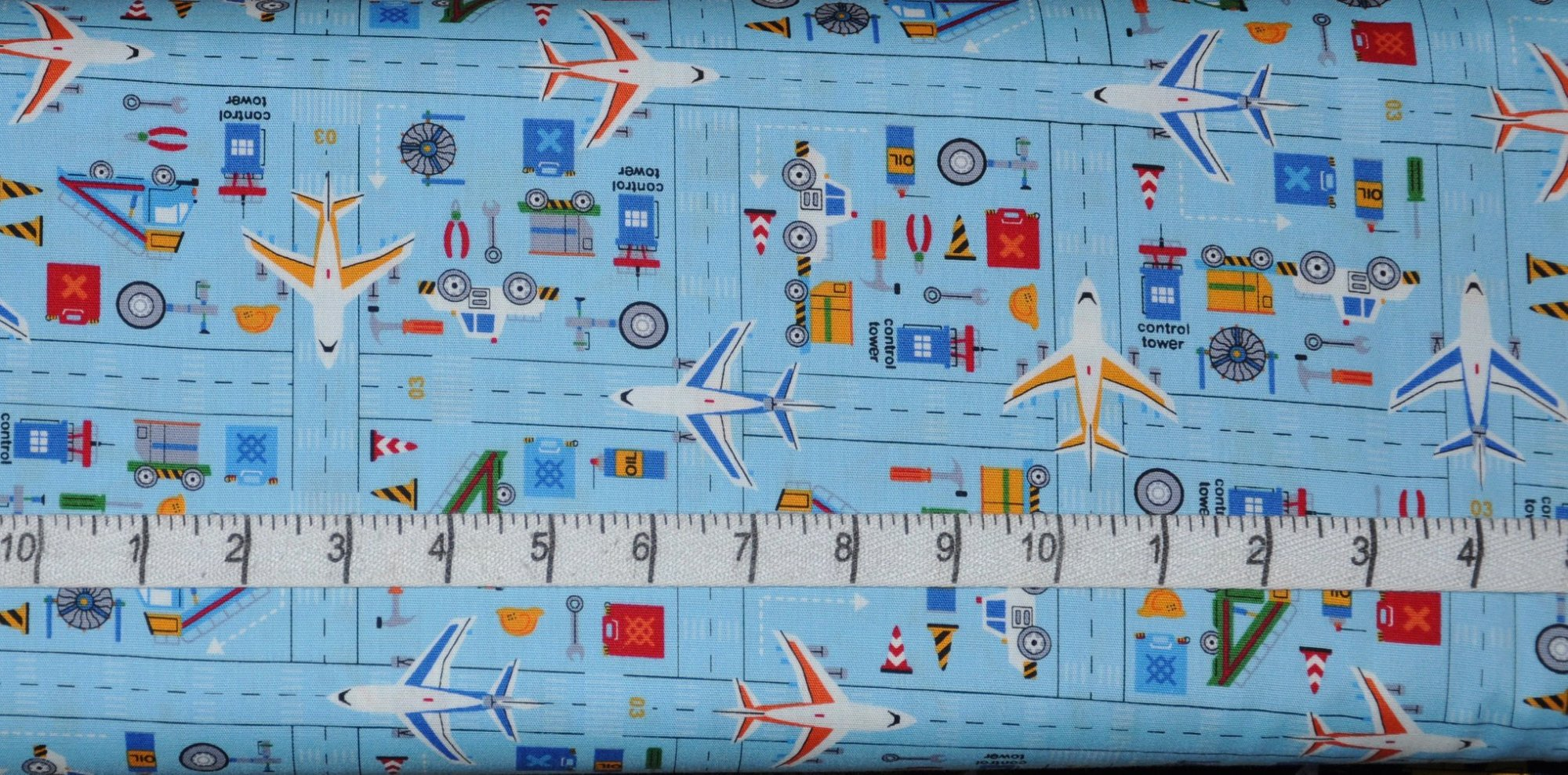 Cosmo. Airport Runway Quilting Cotton